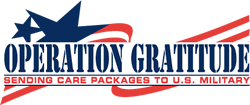 Operation Gratitude, Sending Care Packages to U.S. Military