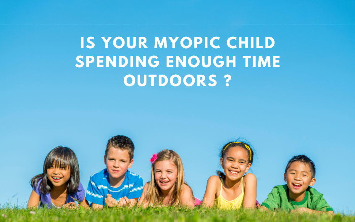Is your myopic child spending enough time outdoors?